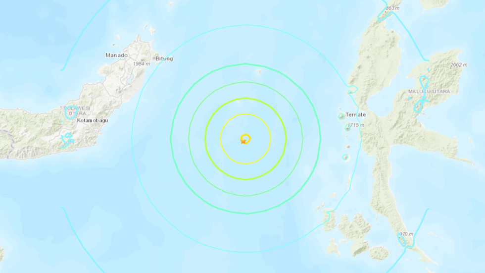 7.0 magnitude earthquake hits Indonesia, tsunami warning issued