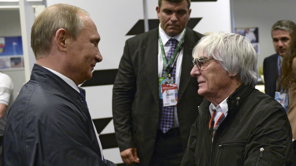 'Good guy' Putin should be running Europe – Formula 1 boss Bernie Ecclestone