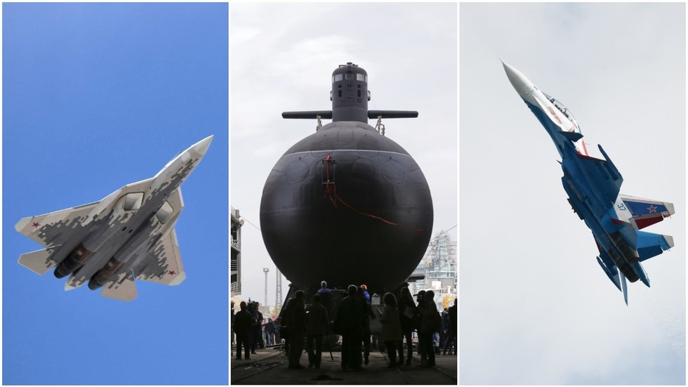 From stealth jets to killer subs: Russia pitches massive arms deals to India