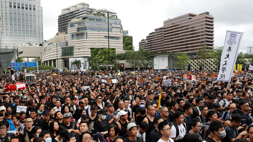 Hong Kong leader admits extradition bill is 'dead' after weeks of violent protests