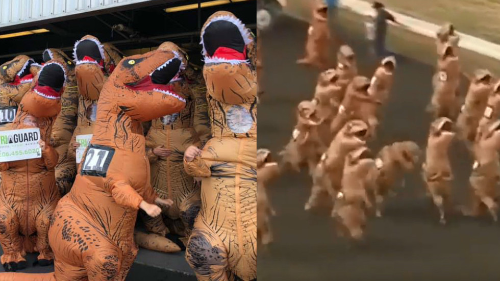 Greatest Race Ever World S Fastest T Rex Contest Takes
