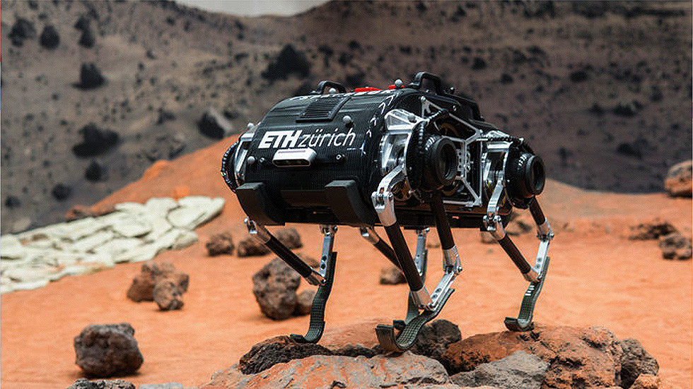 Leaping robot rover that mimics deer and antelope could be space probe of the future