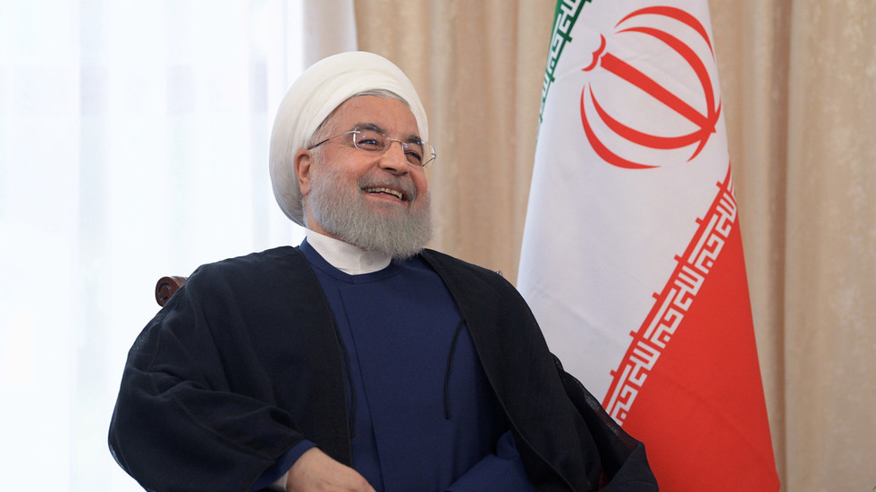 'Sad irony': Rouhani mocks US for calling emergency meeting on Iran nuclear deal...which it left