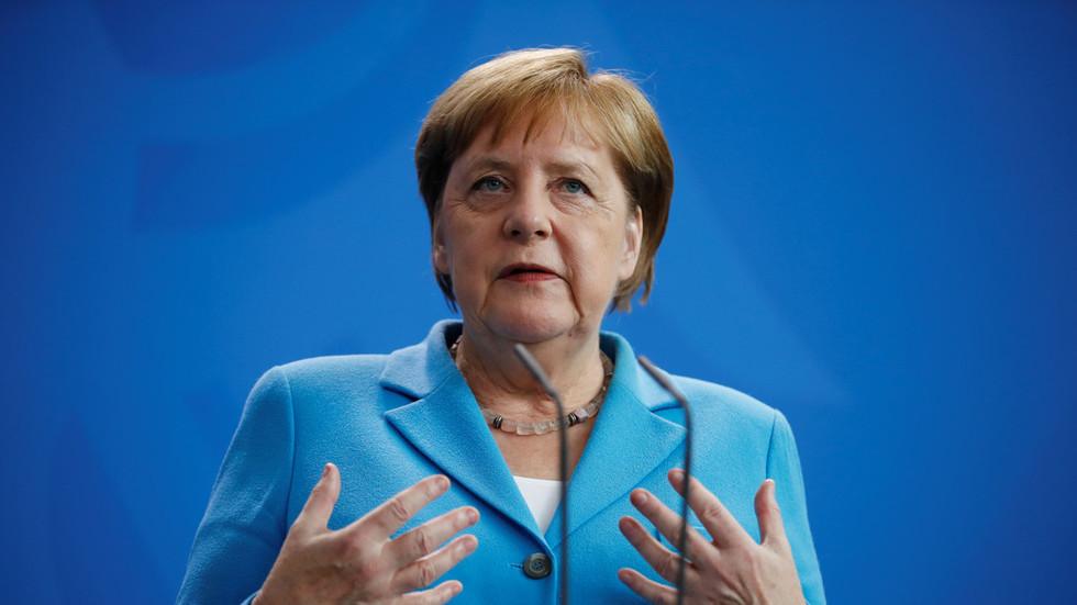 Angela Merkel is 'feeling well' despite THIRD BOUT of shaking, spokesperson insists