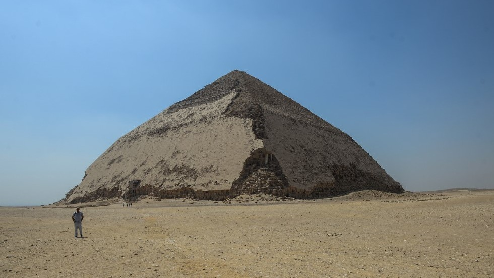 Egypt opens 'Bent Pyramid' for 1st time in decades & displays newly-discovered mummies (PHOTOS)