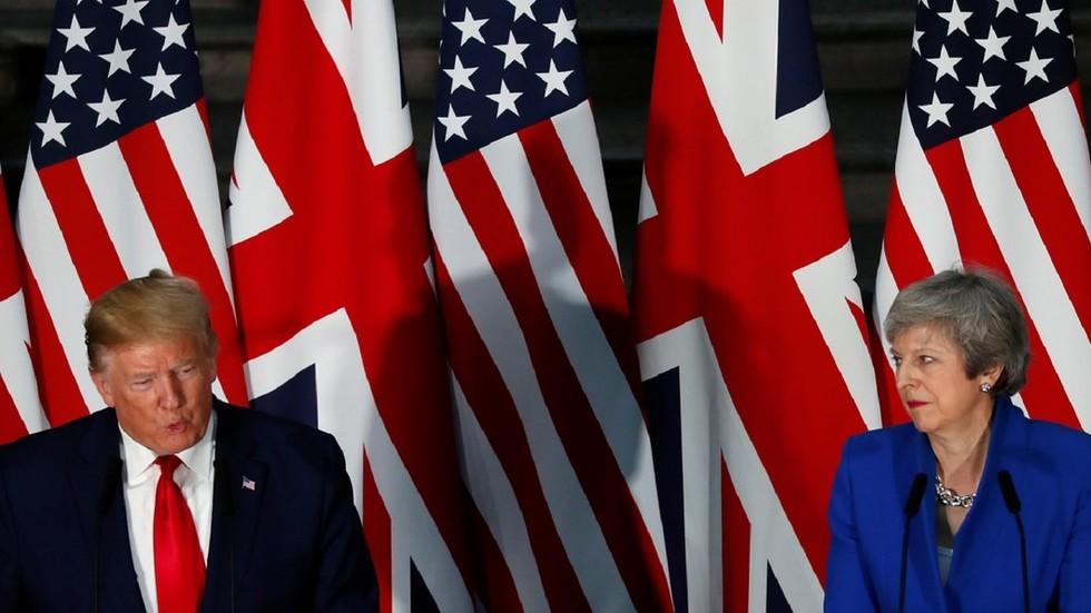 'Completely unacceptable': Theresa May reprimands Donald Trump over US Democrat women rant