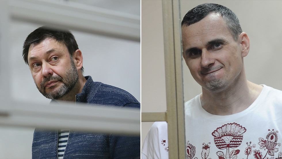 Kiev offers to swap detained Russian journalist Vyshinsky for terrorism convict Sentsov