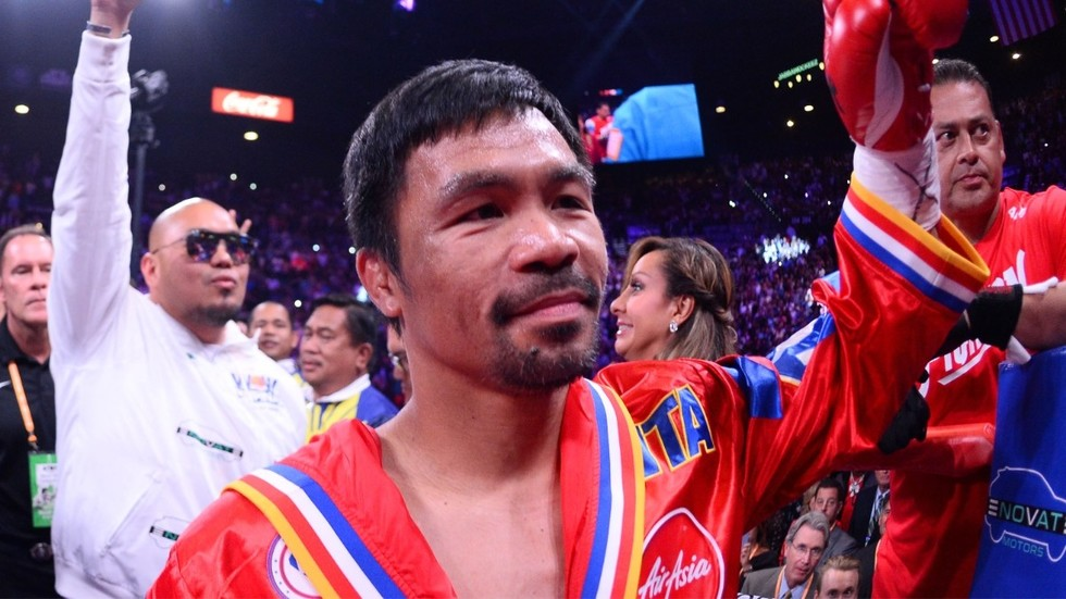From Pacquiao to Couture: Six sporting legends who prove you can still win big in your 40s