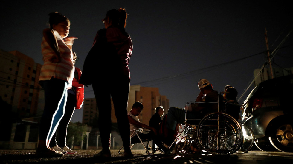 Venezuela blames nationwide blackouts on 'electromagnetic attack'