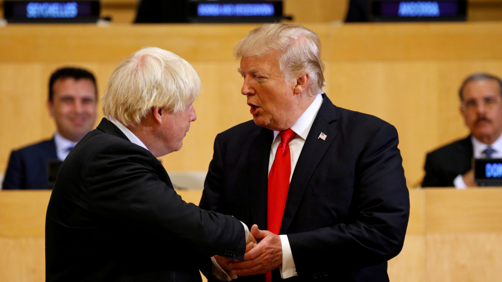 'He'll be great': Trump tweets his congratulations after Boris Johnson chosen as prime minister