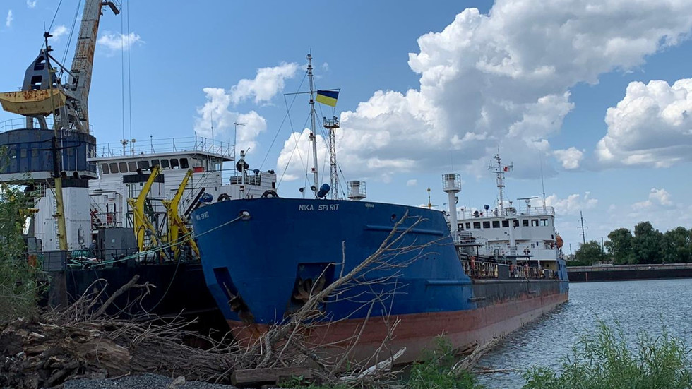 Ukraine's security service publishes VIDEO of operatives seizing Russian tanker