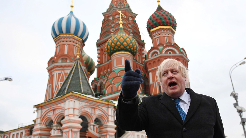 Old O'Donnell had a yarn… MSNBC host claims Putin helped BoJo become PM