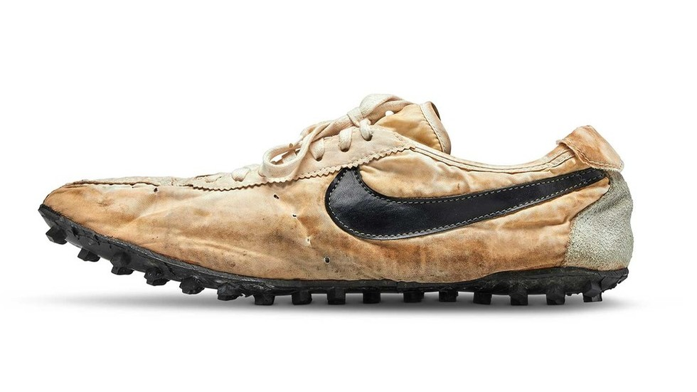 The $438k old Nikes are holy relics of modern capitalism, like old saints' bones were to Christians