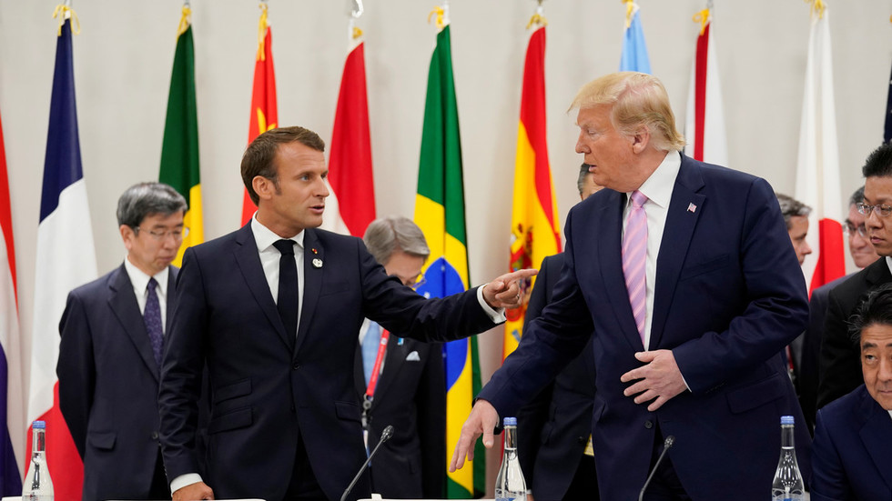 'Macron's foolishness!' Trump vows to hit back against French 'digital tax' if applied to US firms
