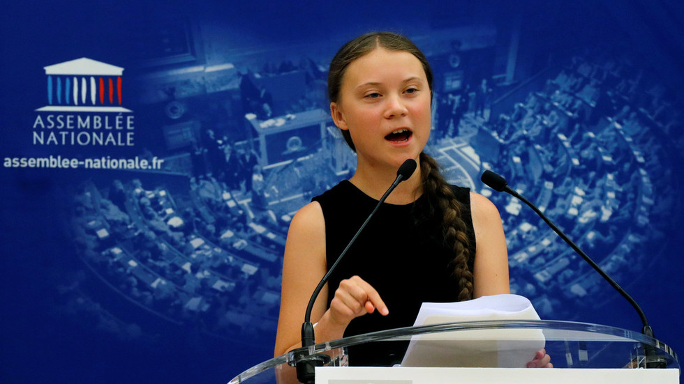 If Greta Thunberg worries about end of the world, why does she pose with status quo politicians?