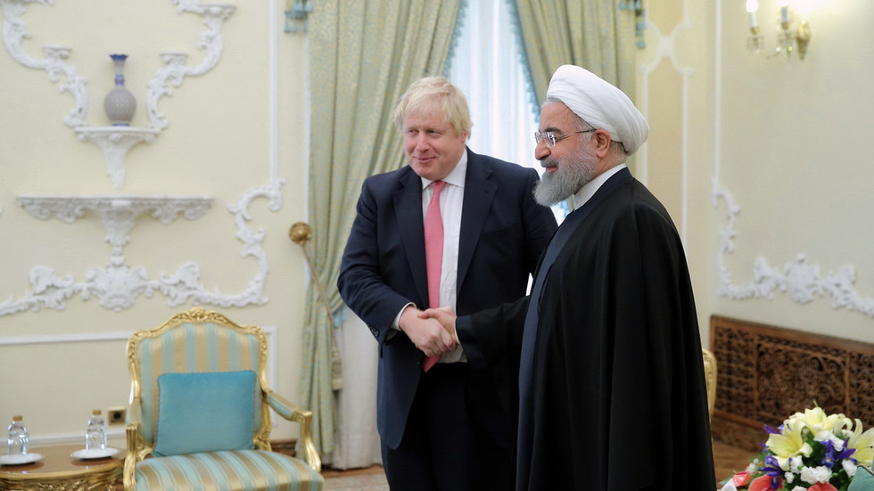 Rouhani hopes BoJo's 'familiarity' with Iran will help alleviate tensions