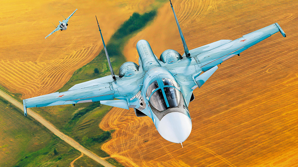 Bombareiro Su-34