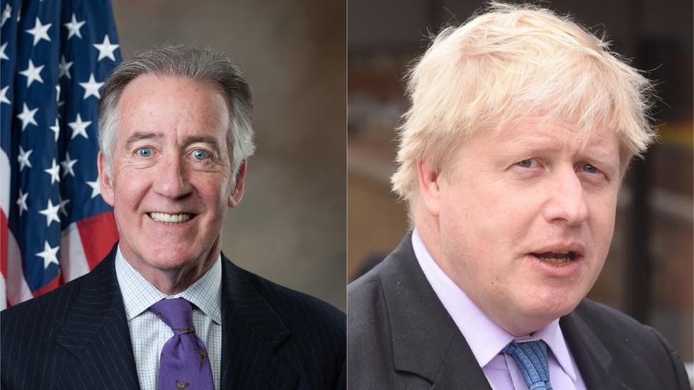 US politicians warn UK they will block trade deal if Brexit threatens Irish border