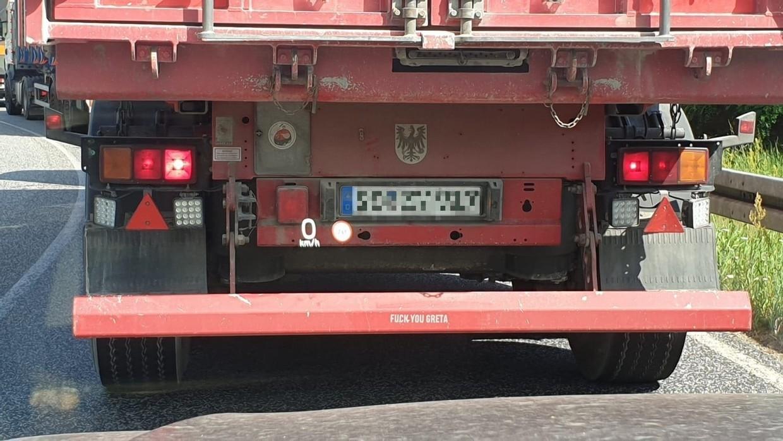 Fk You Greta Bumper Stickers Appear On German Roads