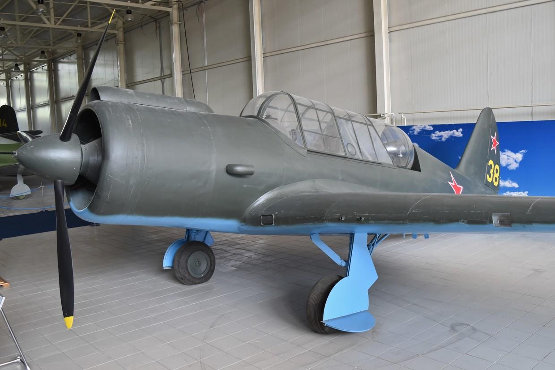 A réplica de um bombardeiro Su-2. © Wikipedia / Alan Wilson