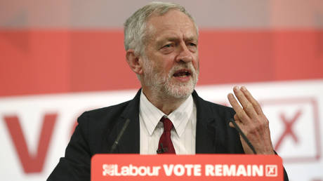 Corbyn's Labour to back REMAIN in a 2nd EU referendum to wipe out Tory Brexit deal