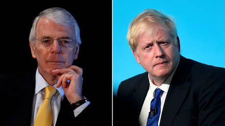 Blue-on-blue warfare: Ex-Tory PM John Major threatens BoJo with legal action over no-deal Brexit