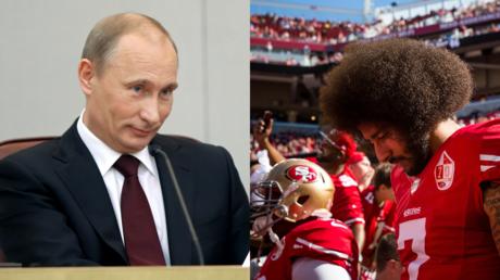 Kaepernick anthem-kneeling controversy was the work of 'Russian Bots' – Kamala Harris