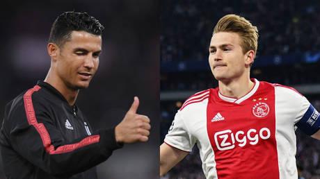 'Agent Ronaldo': Juve fans praise Cristiano for his part in deal for teenage sensation De Ligt