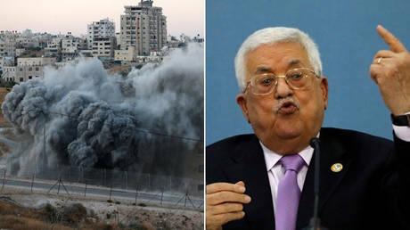 (L) © Reuters / Mussa Qawasma; (R) © Reuters / Mohamad Torokman