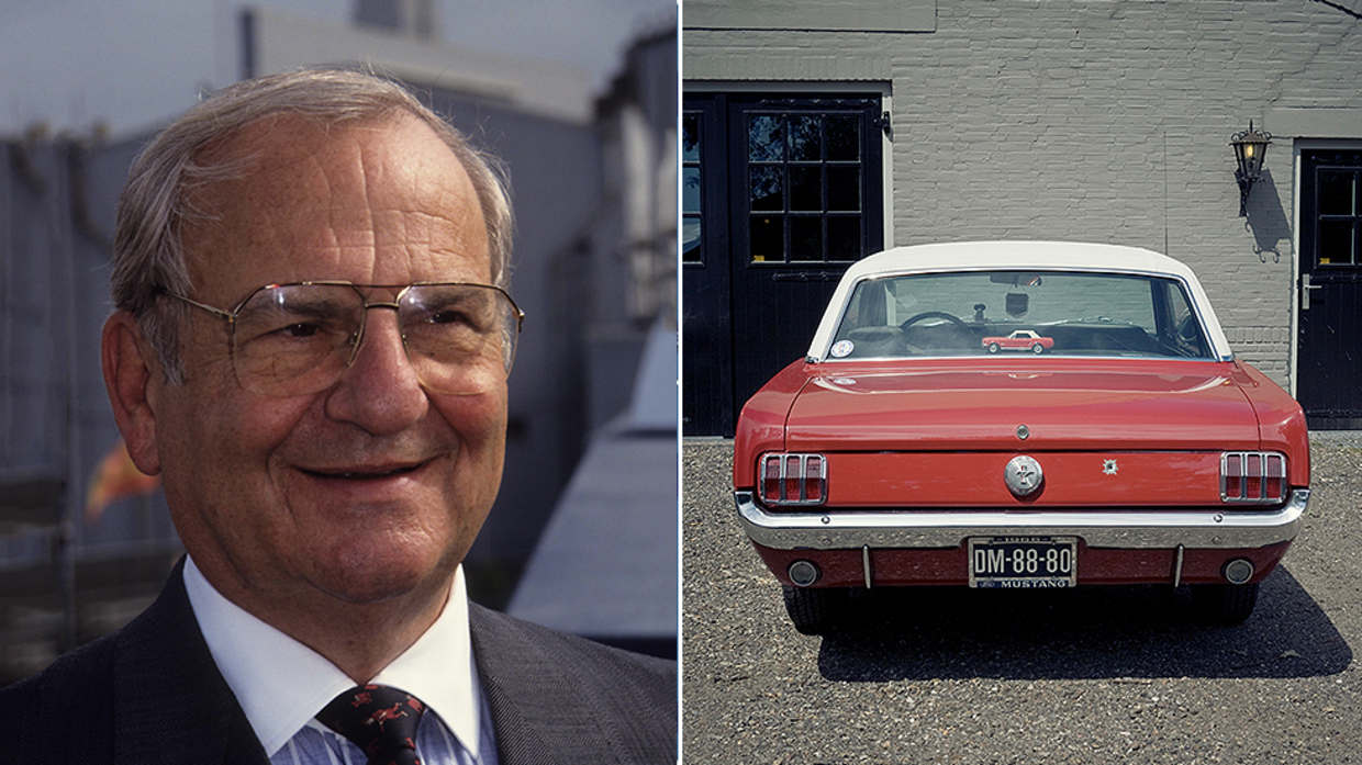 Lee Iacocca Mustang >> Lee Iacocca Father Of Ford Mustang Savior Of Chrysler