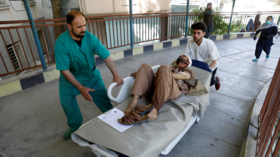 'Dozens' wounded in massive blast near US, UK embassies in Kabul (PHOTOS, VIDEO)