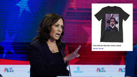 Calculated Kamala? Harris accused of cashing in on segregation with $30 T-shirt