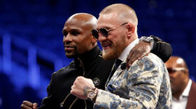 'I'll take it from here': McGregor nails 'bottle cap challenge', challenges Floyd Mayweather (VIDEO)