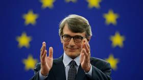 EU Parliament elects Italian socialist as its new president