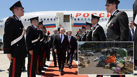 Putin visits Rome for one day… and is already credited with solving city's trash problem