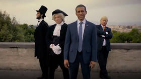 Alitalia pulls ad with 'blackface' actor portraying Obama after 'racism' accusations (PHOTOS)