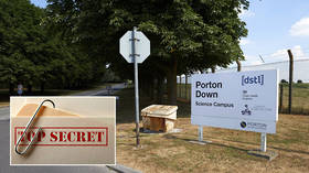 THOUSANDS of pages of docs from UK's secret lab at Porton Down found in dumpster – media