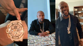 Mayweather buys daughter $150K Mercedes while McGregor snaps up Lamborghini as fight stars go on Christmas spending spree (PHOTOS)
