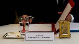 Macron's office abandons plans to close press room at Elysee Palace