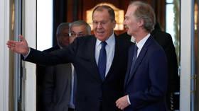UN envoy for Syria Pedersen meets Lavrov, urges Russia to help stabilize Idlib