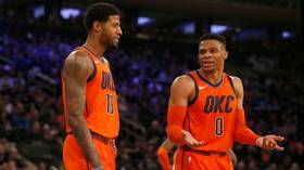 What now for Russell Westbrook? Speculation over Thunder star's future as George heads to Clippers