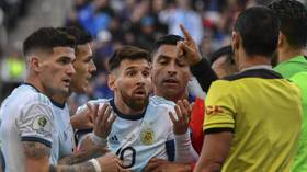 'Corruption': Messi rages at Copa America officials after being sent off for just second time