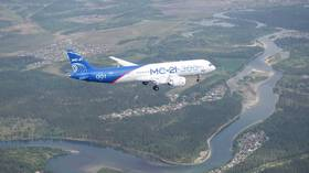 Russia building two more MC-21 passenger jets despite US sanctions pressure