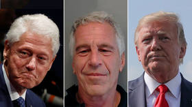 Friend of the Clintons or Trump's pal? Media war erupts after Epstein's arrest