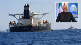 'Piracy, pure and simple': Iran's FM lashes out at UK over supertanker seizure