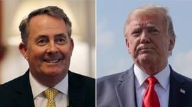 'Unethical & unpatriotic': UK Trade Minister Fox condemns leak of 'inept' Trump ambassador memos