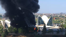 Over a thousand evacuated as Spanish aquarium goes up in flames (PHOTOS, VIDEO)