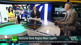 Tariff threat jolts Mexican exports & Deutsche Bank drama exposed?