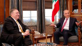 US sanctions on Hezbollah are 'assault on Lebanon & parliament' – Speaker Berri