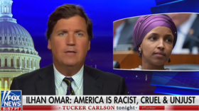 Ilhan Omar brands Tucker Carlson a 'racist fool' in scathing tweet